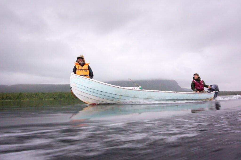 Flugfiske i Tjuonajokk